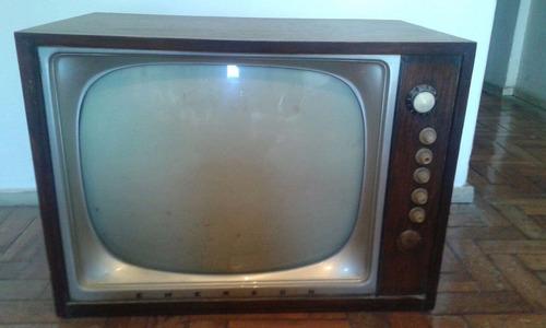 Televisão Emerson De Madeira Década 50 / 60
