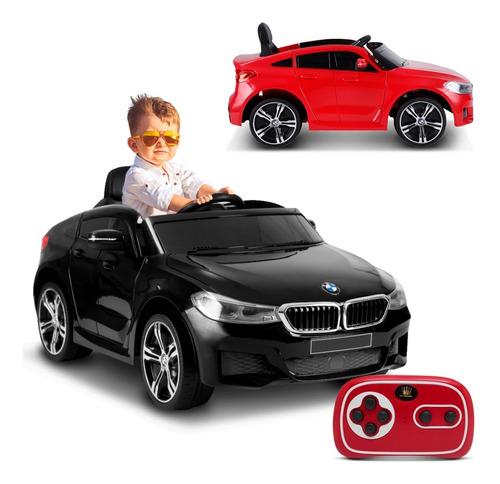 Carrinho Elétrico Infantil Bmw 12v Com Controle Usb Som Mp3