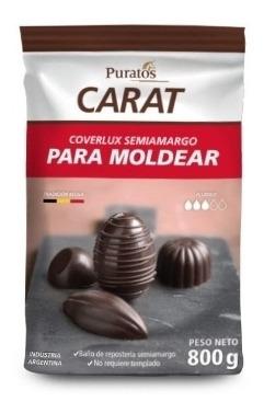 Carat Coverlux Semiamargo Puratos 800gr Gotas