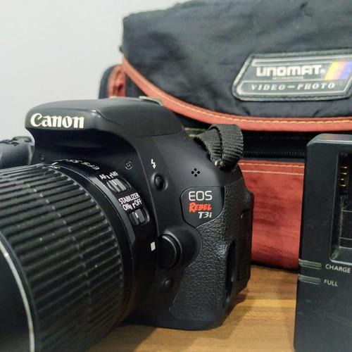 Câmera Profissional - Canon Eos Rebel T3i Dslr
