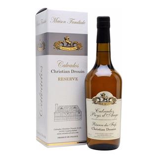 Calvados Christian Drouin Reserva Frances Con Estuche