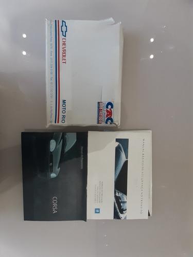 Manual Proprietário  Pick Up Corsa 1999