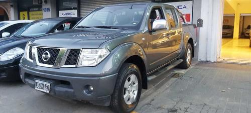 Nissan Frontier 2010 2.5 Le Cab Doble 4x4 Financio Recibo Me