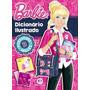 Livro Novo Barbie Dicionário Inlustrado Portugues E Inglês
