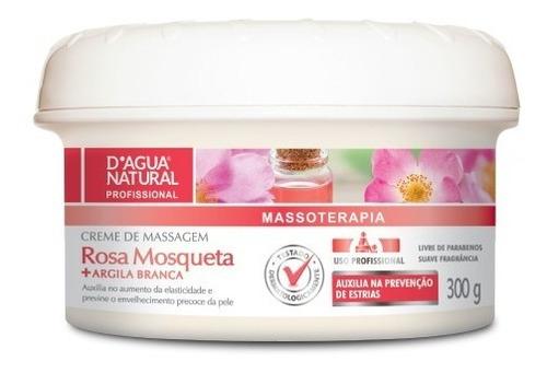 Creme Massagem Gestante Rosa Mosqueta 300g Dágua Natural