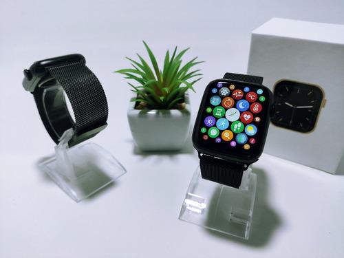 Smartwatch Iwo W46 Original + Pulseira Metal E Capinha