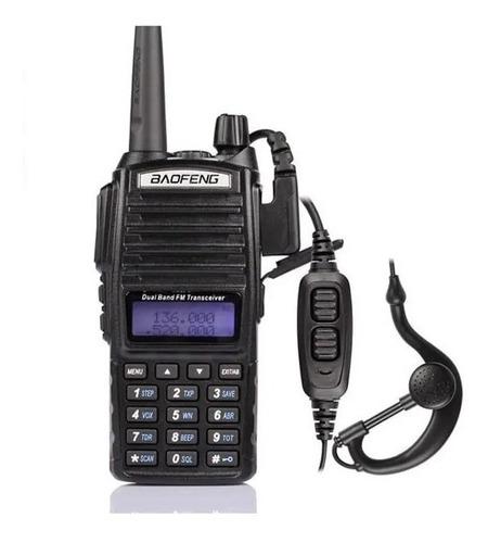 Rádio Comunicador Baofeng Uv-82 Dual Band Rádio Fm Com Fone