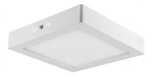 4x Painel Plafon Premium Luminária Sobrepor Teto Led 12w Original