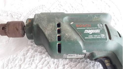 Taladro Bosch Magnum 3/8  400 W 1600 Rpm ( Sin Estuche)