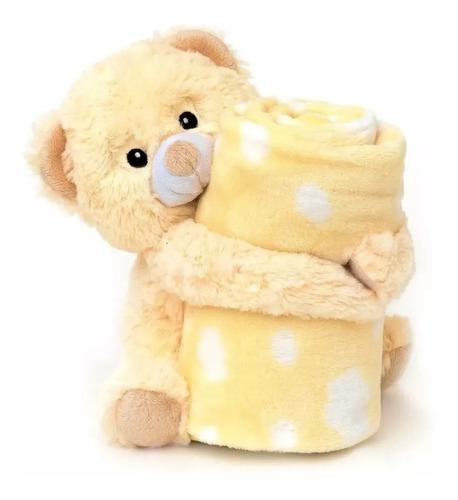 Manta Cobertor Girafinha Elefantinho Ursinho Teddy Ursinha