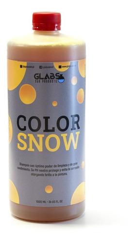 Color Snow Shampoo Espuma Activa Neutro Foam Amarillo Glabs