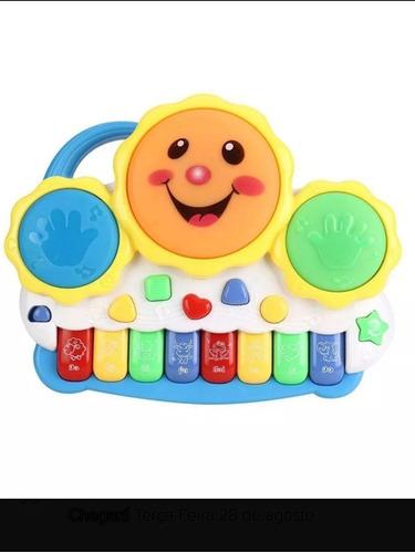 Piano Drum Muito Legal Ele Tem Varia Funções Nele
