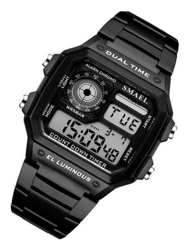 Relógio Masculino Ou Feminino Smael 1818 Retro Digital