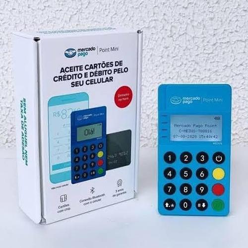 Maquininha Point Minizinha Envio Imediato + Cartão Grátis