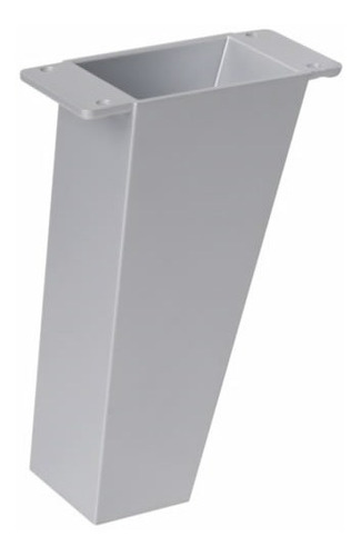Pata Para Mueble. 12 Cm. Aluminio Mate.