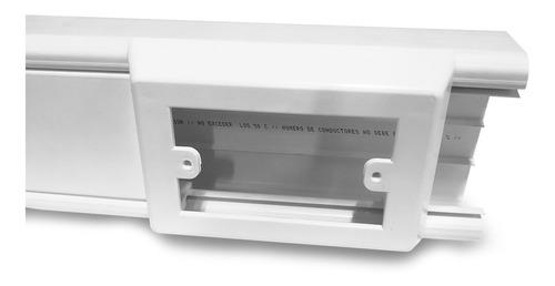 Caja Portatoma Canaleta 100x45 Adler
