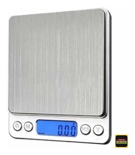 Balança Digital Alta Precisão 0.1g A 2000g 2kg Calibrada Nfe