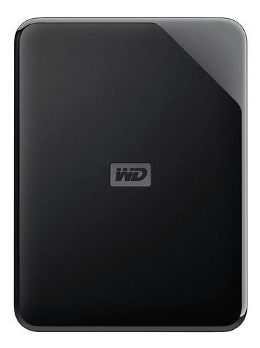 Disco Rígido Externo Western Digital Wd Elements Se Wdbjrt0020bbk 2tb Preto