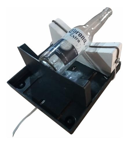 Maquina Cortadora Garrafas Vidro Eletrica + 12 Resistencias