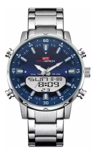 Relógio Kat-wach Masculino Fashion Militar Esporte