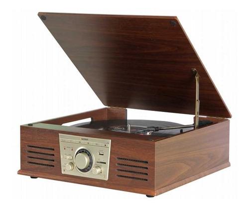 Vitrola Toca Discos De Vinil Sonata Stadio Bluetooth Bt Mp3