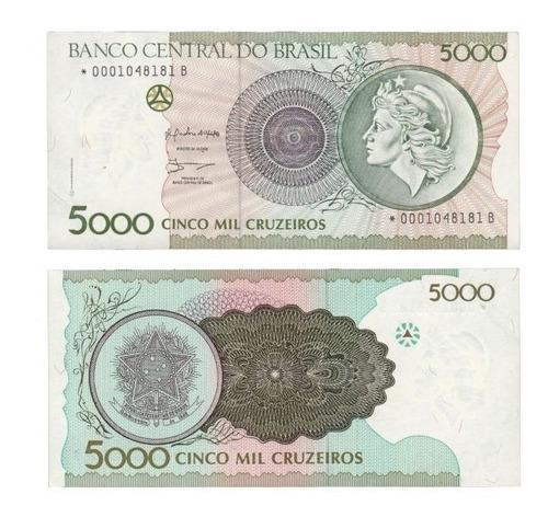 Cédula 5000 Cruzeiros - Novíssima