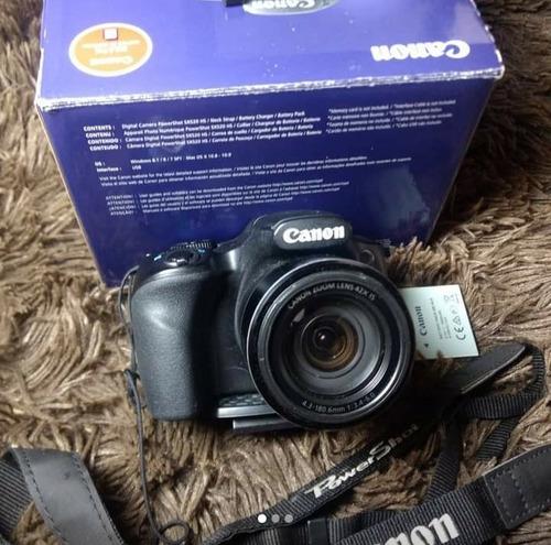 Câmera Digital Semi profissional Canon Powershot Sx520 Hs