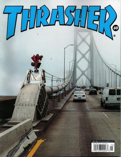 Revista Thrasher Skatistas, pistas E Comportamento
