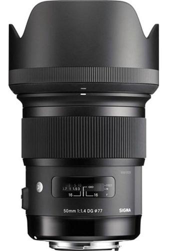 Lente Sigma Para Nikon 50mm F/1.4 Dg Hsm