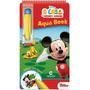 Aquabook Mickey Mouse Disney Pinta Com Água Livro Capa Dura