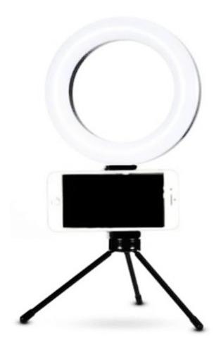 Ring Light 16cm Youtuber  Iluminador  Branca Quente Fria