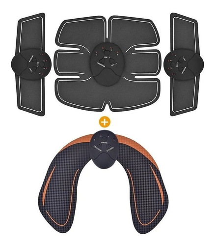 Tonificador Muscular Abdomen Ems Fit Control Smart Fitness