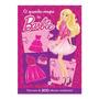 Livro Infantil O Guarda Roupa Da Barbie 200 Adesivos Lindos
