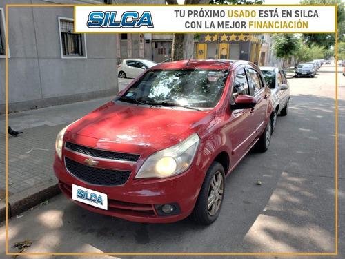 Chevrolet Agile Ltz 2010 Rojo 5 Puertas