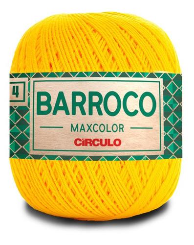 Barbante Barroco Maxcolor Círculo Nº4 200g