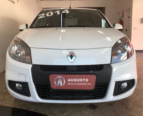 Renault Sandero Expression 1.0 2014 Baixa Km