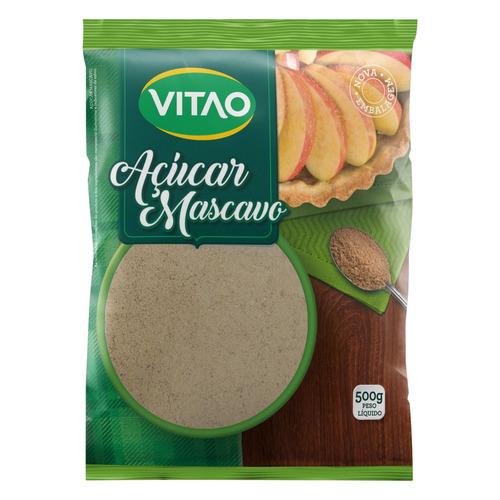 Açúcar Mascavo Vitao Pacote 500g