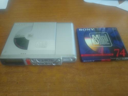 Md Sony Mz-r37 Com Md Virgem