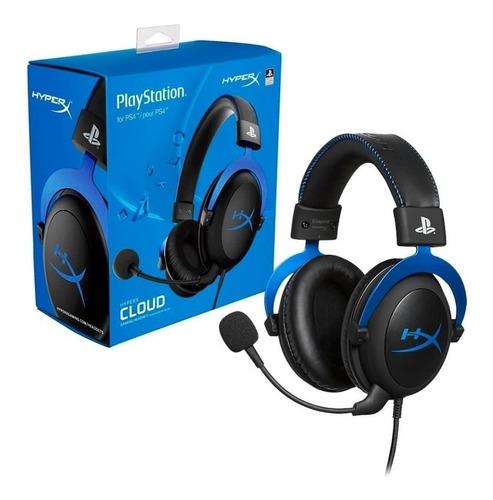 Headset Gamer Hyperx Cloud Blue P/ps4 Hx-hscls-bl/am
