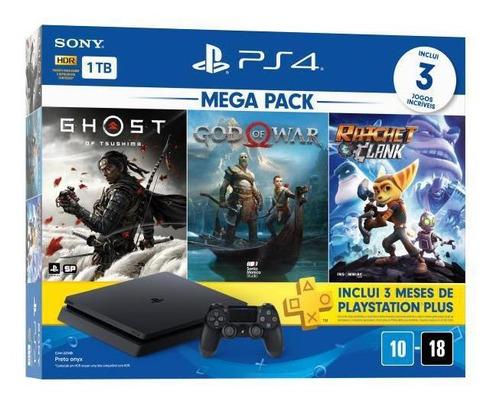 Console Playstation 4 1tb Bundle 18 - Ps4