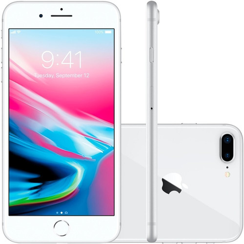 iPhone 8 Plus Vitrine 64gb Original Apple Loja Nfe Garantia