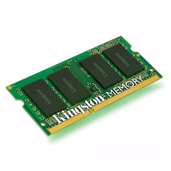 Memoria Sodimm Kingston Ddr3 4gb 1600mhz 1.35v Notebook 4096