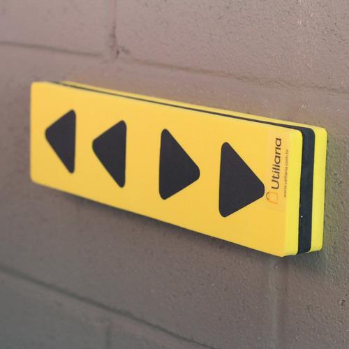 2 Protetores Para-choque Eva Parede Estacionamento Garagem