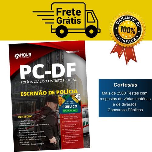 Apostila Pc Df Escrivão De Polícia Distrito Federal