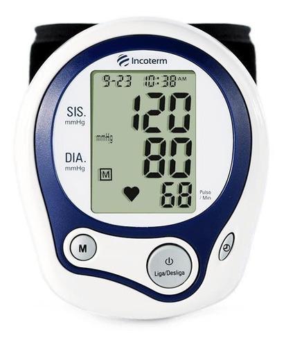 Aparelho Medidor De Pressão Arterial Digital De Pulso Incoterm Mp100