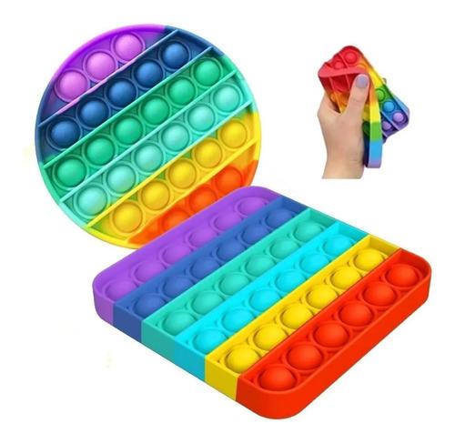 Pop It Fidget Brinquedo Anti Stress Sensorial Bolha Bubble