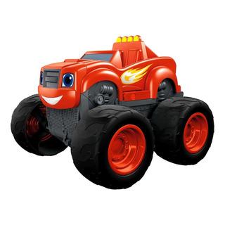 Auto Blaze Monster Machines Transformable Bombero Con Sonido