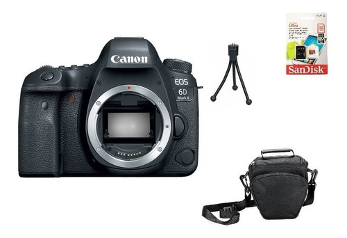 Canon 6d Mark Ii (corpo) Fullframe Garantia Novo