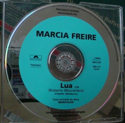 Cd  Single  Marcia  Freire  /  Lua  - B194 Original