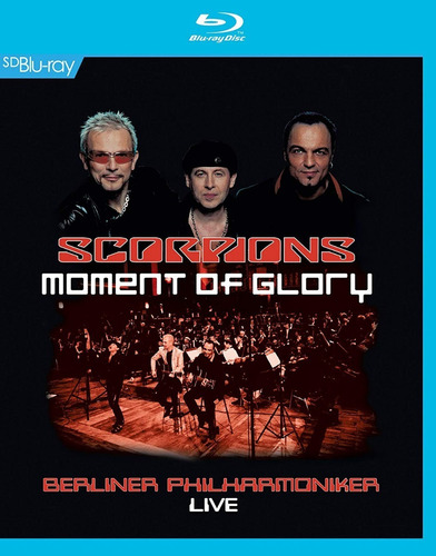 Blu Ray Scorpions Moment Of Glory Original
